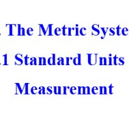 受保護的文章:020310 The Metric System_Standard Units of Measurement